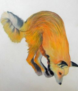 Pouncing Fox