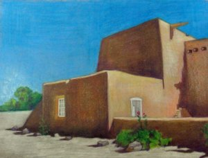 Taos Church 1-4-2013 #2