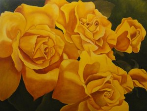 Yellow Roses - redone 36 x 40