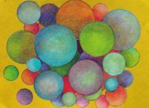 #25 Bubbles Mandala
