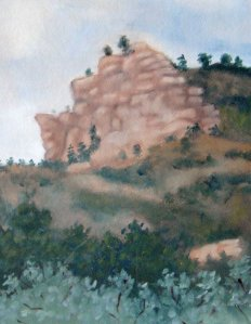 En Plein Air Austin Bluffs