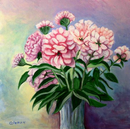 #11 May 25, 2018 Peonies ACRYLICS Sept
